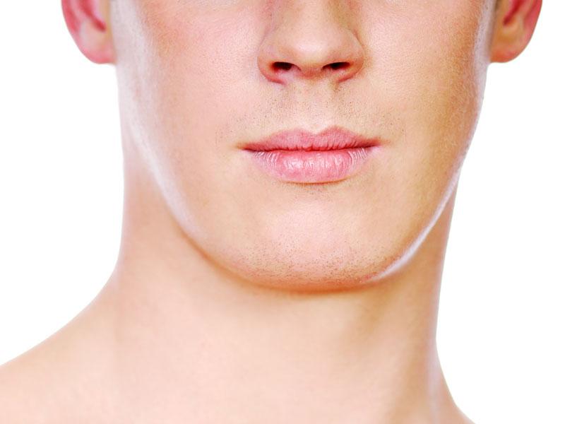 Contorno de la mandíbula