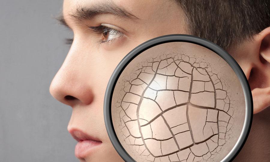 Envejecimiento facial en hombres