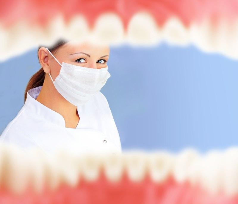 origen flemón dental en niños