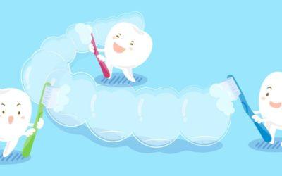 ¿Cómo limpiar la ortodoncia Invisalign?